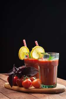 Bloody mary-cocktail