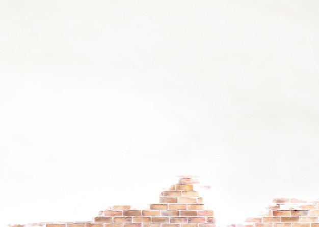 Blootgestelde bakstenen muur