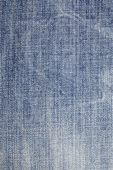 Blue denim jeans textuur achtergrond. Premium Foto