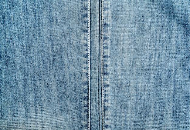 Blue denim jeans textuur, muur