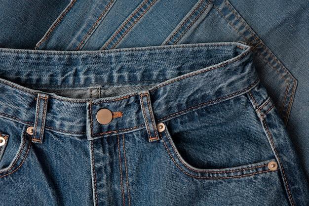 Blue jeans oppervlak denim patroon jean structuur