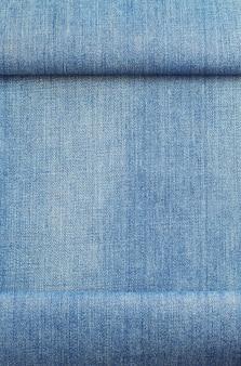 Blue jeans textuur geïsoleerd op wit