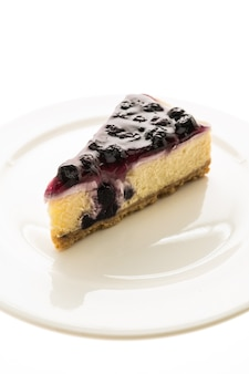 Blueberry cheese-cake