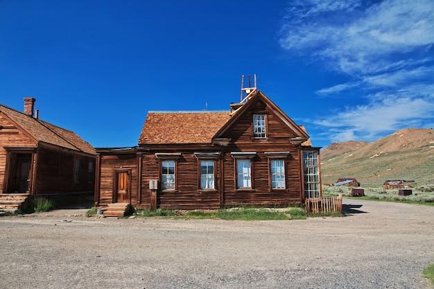Bodie, verlaten stad van goudzoekers, vs.