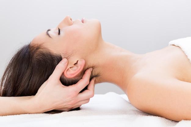 Body spa ontspannen vrouwen kamer