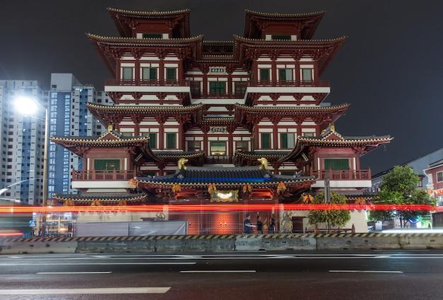 Boeddhistische tand relikwie tempel en museum