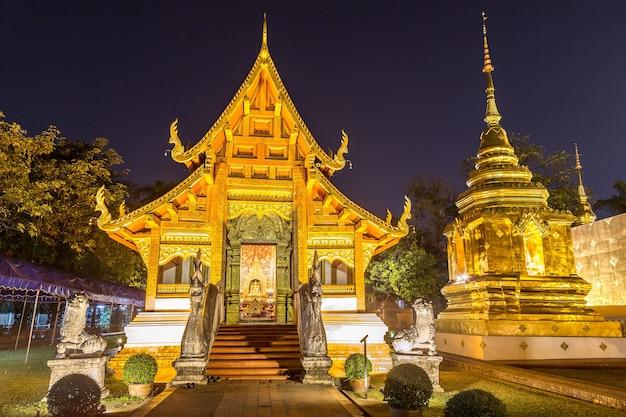 Boeddhistische tempel in chiang mai, thailand
