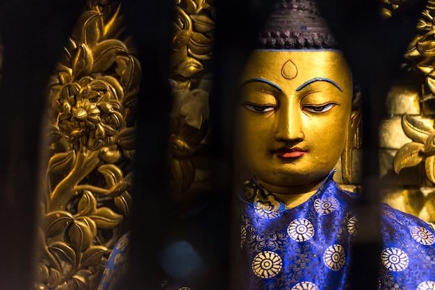 Boeddhistische tempel katmandu nepal