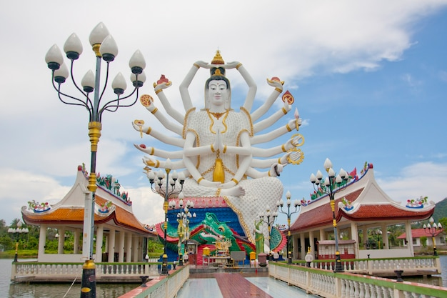 Boeddhistische tempel van shiva thailand samui
