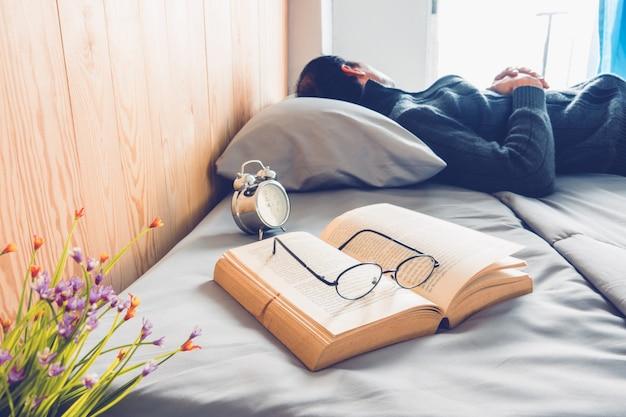 Boek en slaap