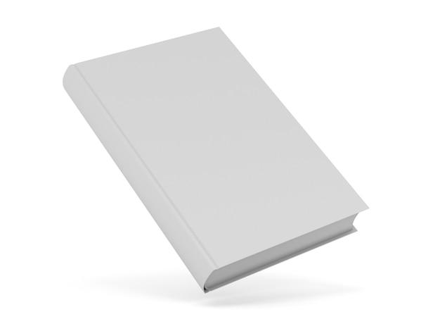 Boek geïsoleerd op wit