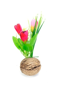 Boeket bloemen geïsoleerd