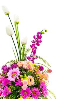 Boeket met kleurrijke bloemen