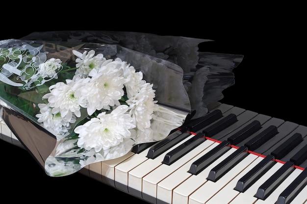 Boeket op de piano