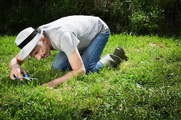 Boer tuinman