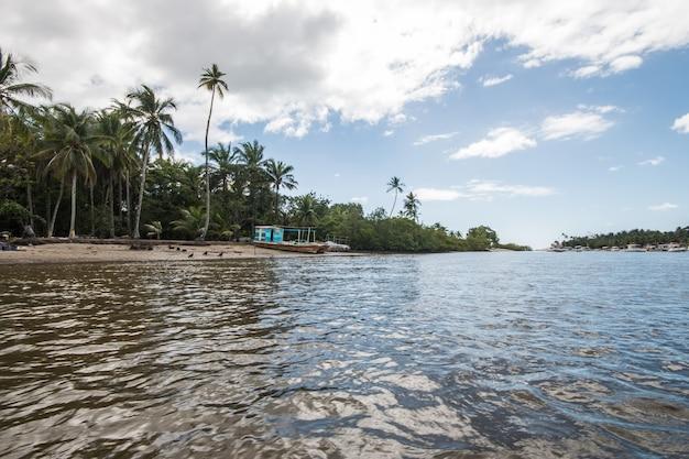 Boipeba tropisch eiland in het noordoosten van brazilië in bahia.