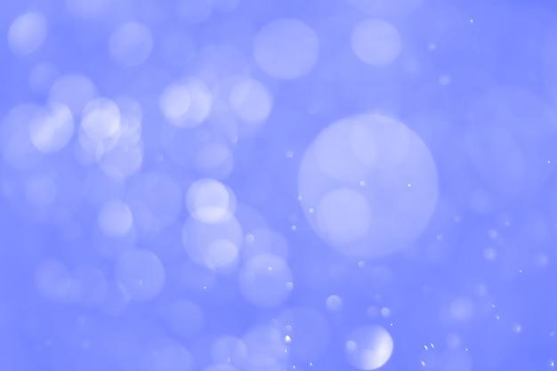 Bokeh abstracte achtergrond met blauwe kleur