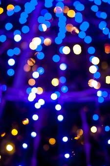 Bokeh lichten kerstmis achtergrond.