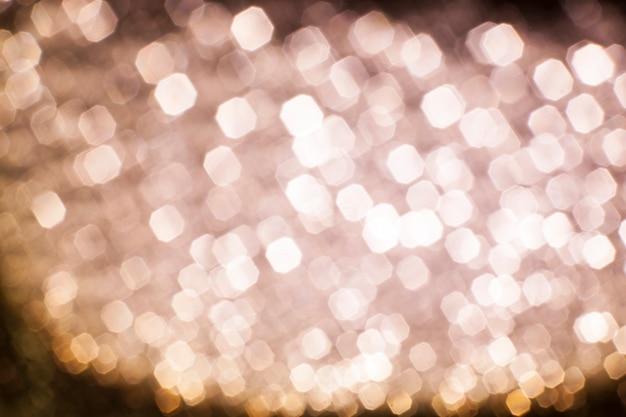 Bokeh rode lichten kerstmis achtergrond.