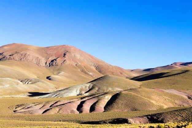 Boliviaans bergenlandschap, bolivia.andes-plateaumening