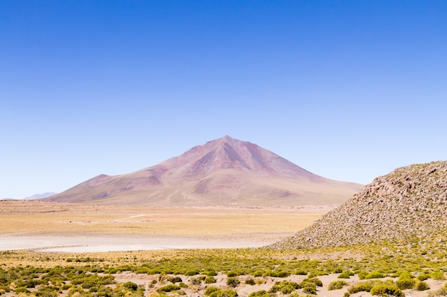 Boliviaans bergenlandschap Premium Foto