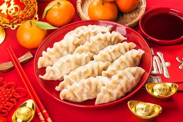 Bollen met mandarijnen en sojasaus