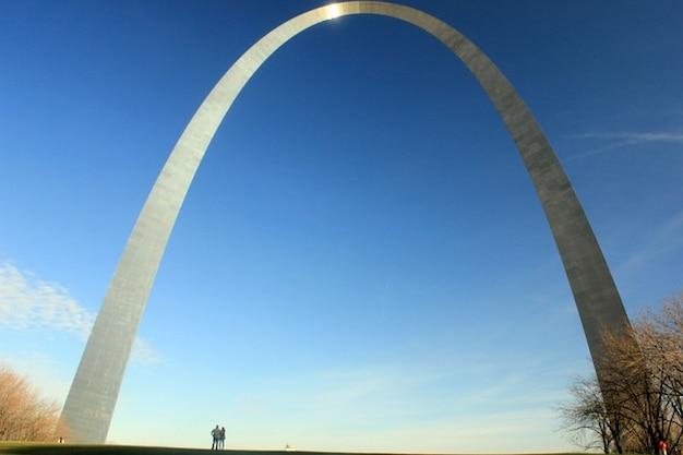 Boog monument st architectuur louis gateway