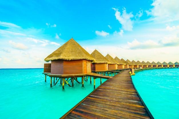 Boom hemel zee maldiven kust