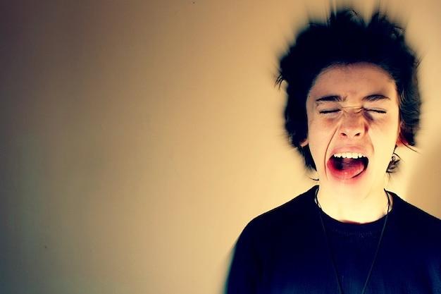 Boos stress effect zoom huilen