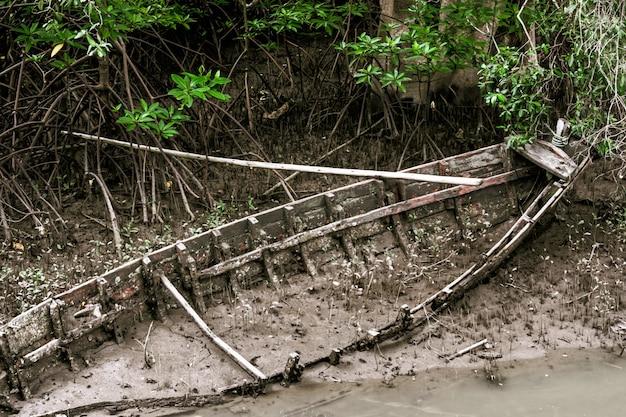 Boot, die niet meer bruikbaar zijn