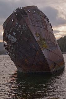 Boot oud oceaan