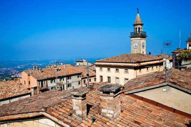 Borgo maggiore, de stad in san marino