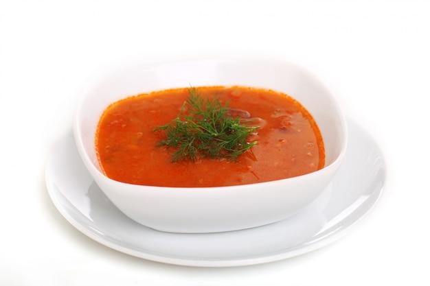 Borsch soep