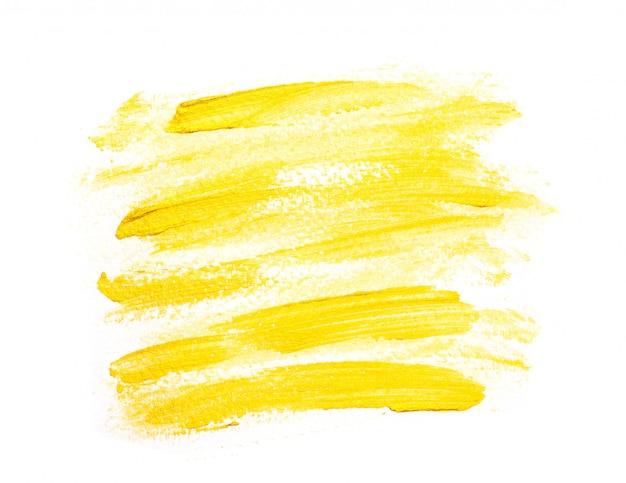 Borstel gouden lijn.afbeelding