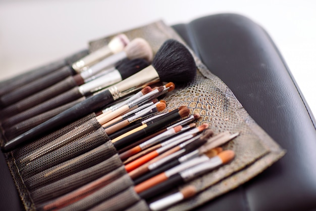 Borstels make-up artiest