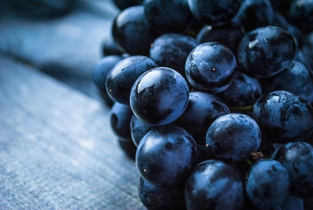 Bos van zwarte druiven
