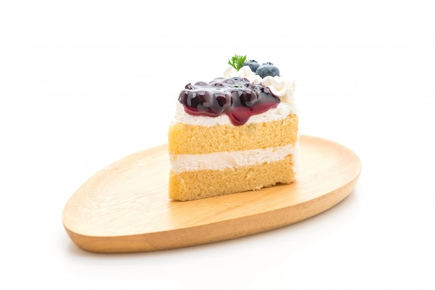 Bosbessen taart