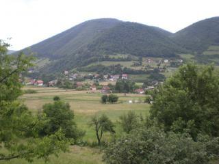 Bosnië landschap