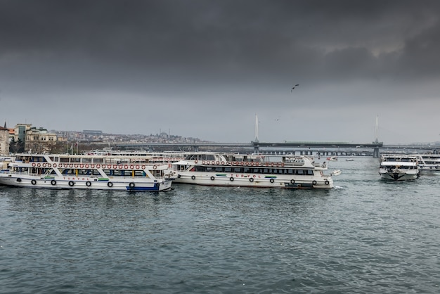 Bosphorus zeestraat turkije