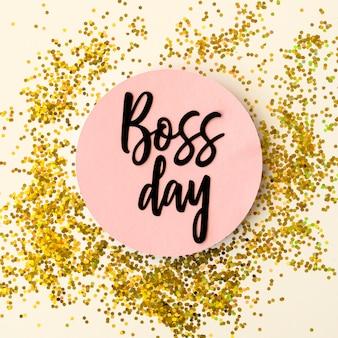 Boss dag sticker