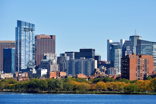 Boston downtown, verenigde staten