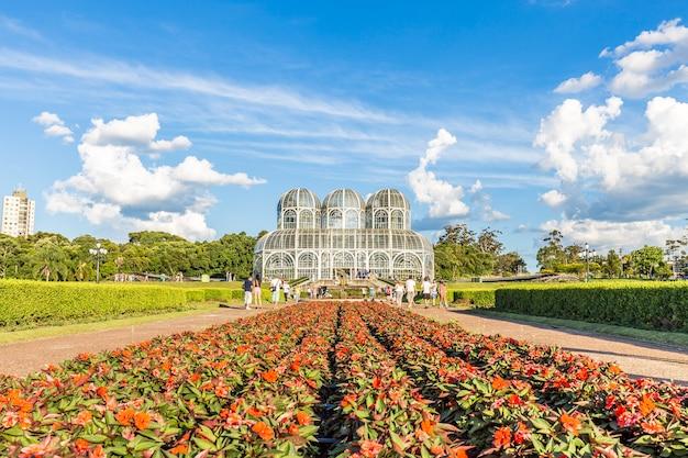Botanische tuin, curitiba. staat parana, brazilië