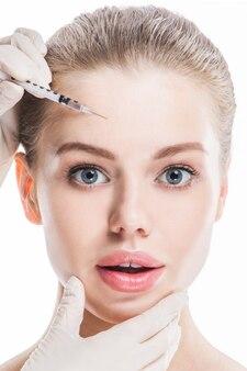 Botox injectie