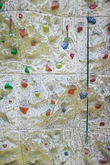 Bouldermuur voor klimmen.