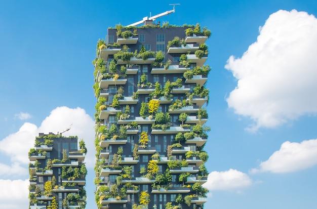 Bouw verticale tuinen milaan