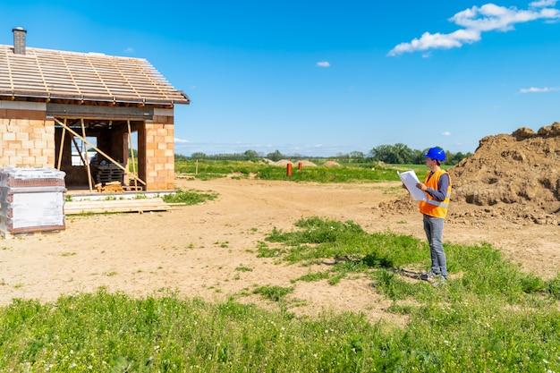 Bouwbegeleiding tijdens de bouw van een gezinswoning