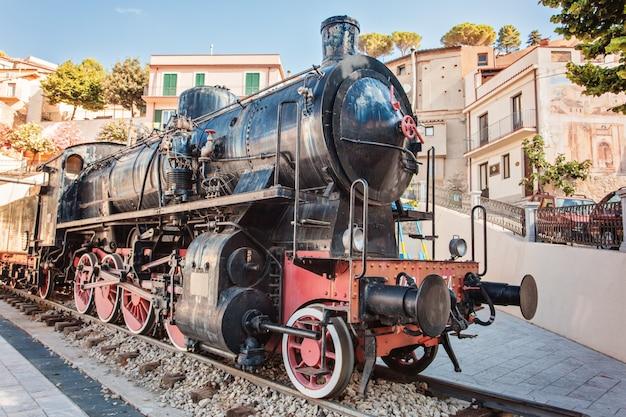 Bova superiore - locomotief, calabrië, italië