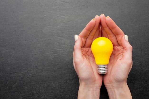 Bovenaanzicht abstracte innovatieregeling
