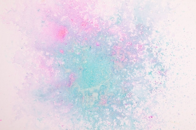 Bovenaanzicht abstracte kleurrijke verf achtergrondstructuur