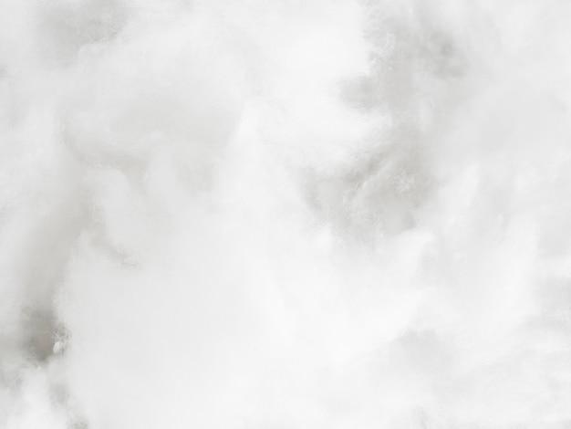 Bovenaanzicht arrangement met katoen